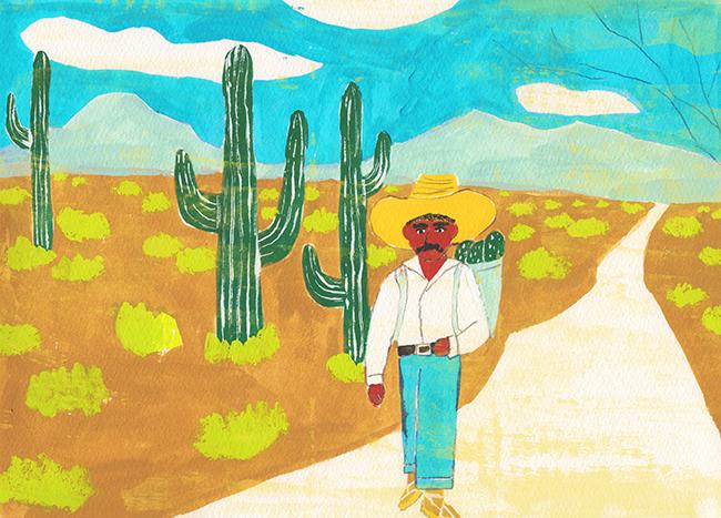 メキシコのおっさん