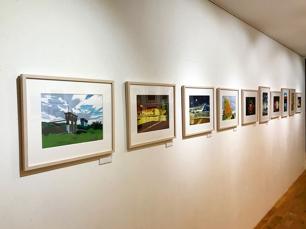 草野碧個展『contrast』@L'illustre Galerie LE MONDE