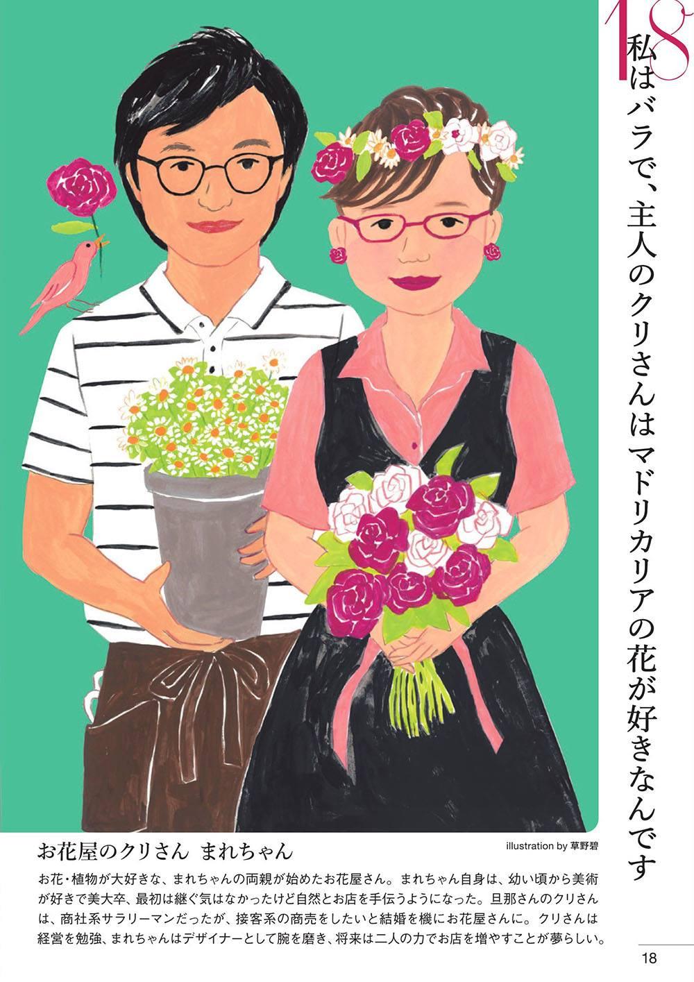 フリーペーパー冊子「とりつじん」イラストレーション