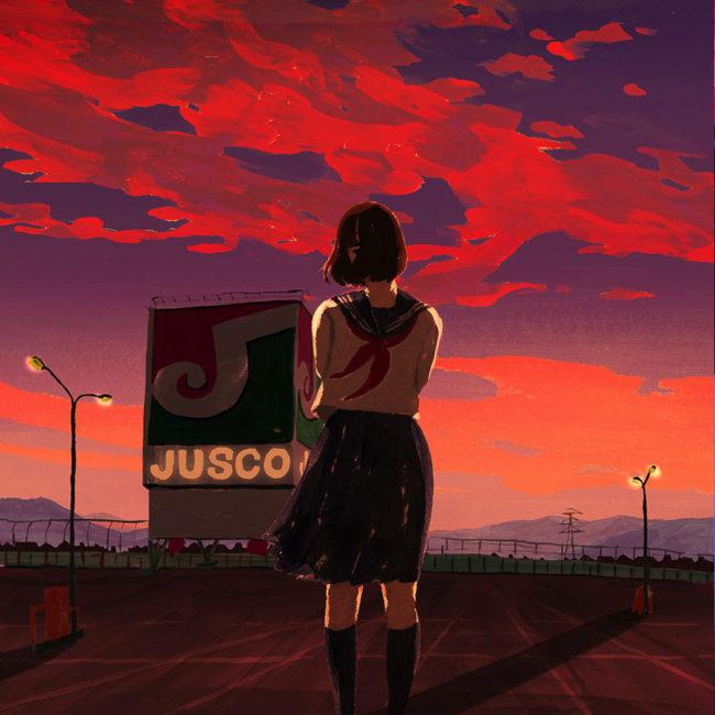 イラストレーション 人物 ジャスコ 草野碧
