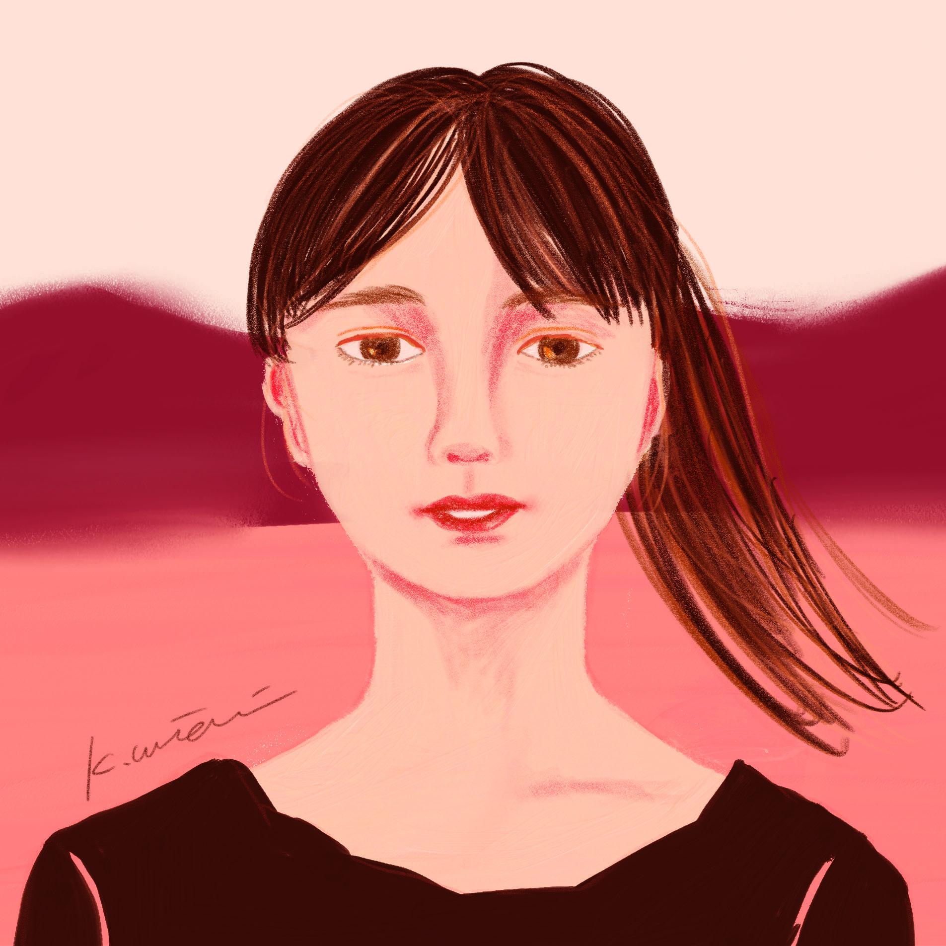 girl/イラストレーション