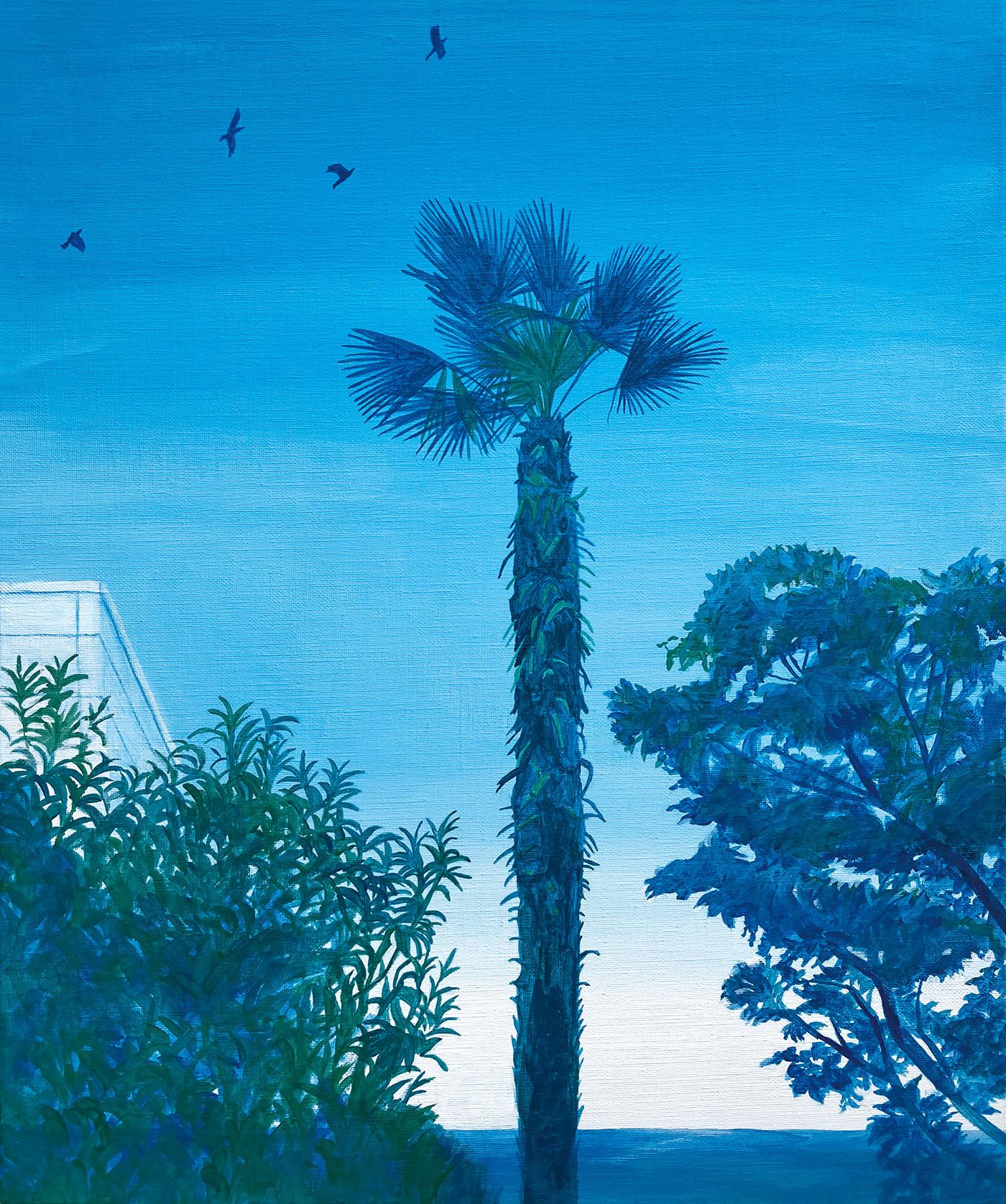 イラストレーション 草野碧 風景 夏 海 ノスタルジック