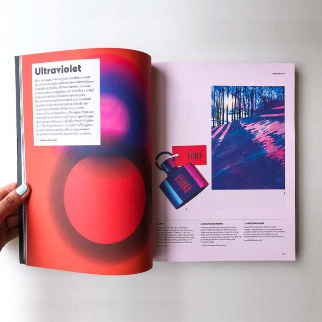 フランスデザイン雑誌étapes|草野碧イラストレーション