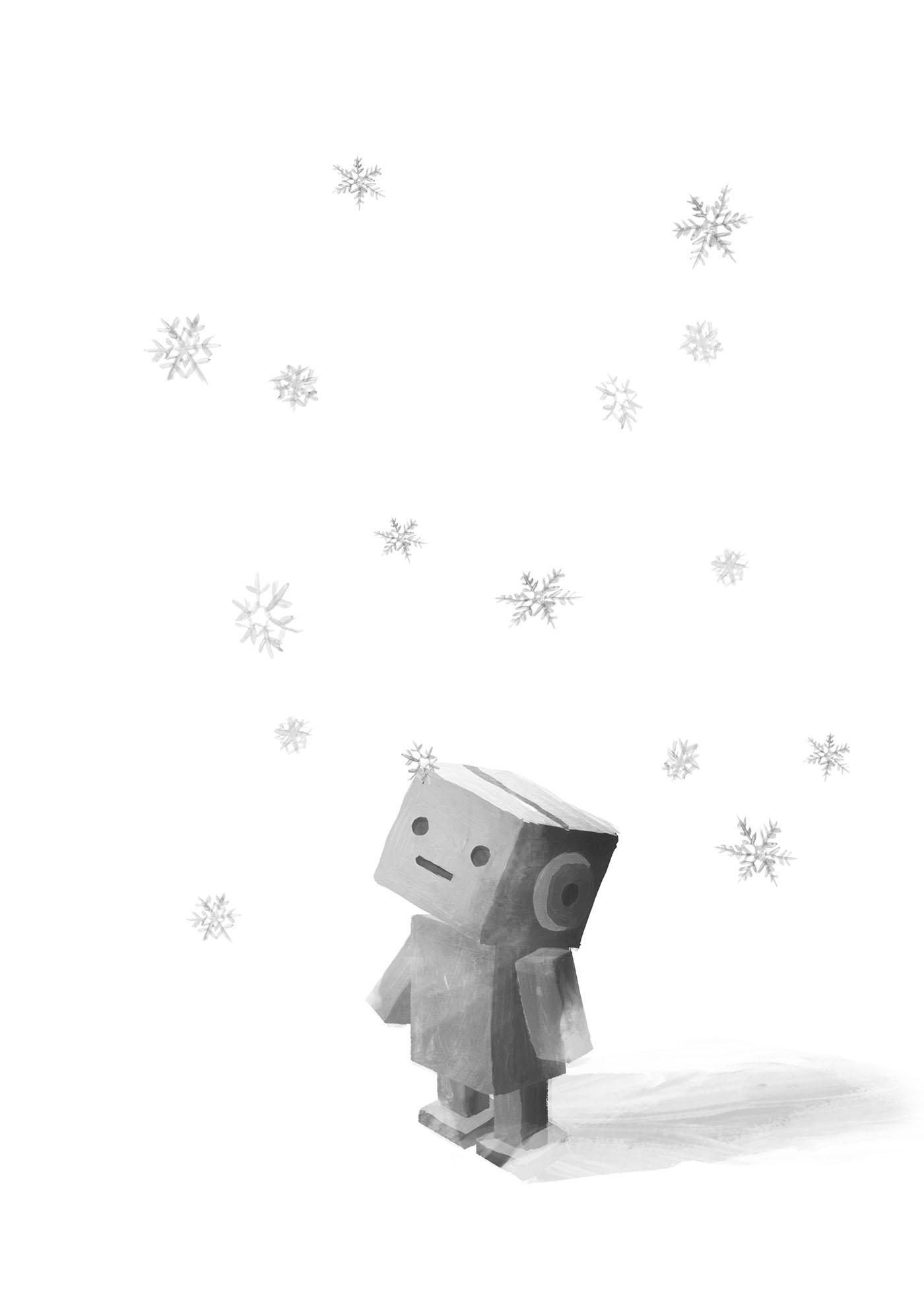 本扉/伊与原新『八月の銀の雪』(新潮社)草野碧イラストレーション